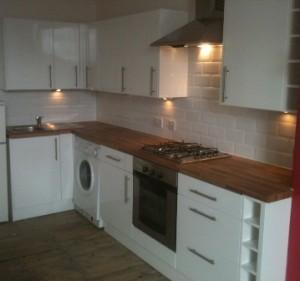 recent kitchen install